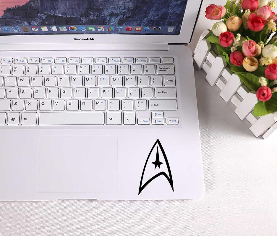 Стикер для ноутбука Star Trek, фирменный логотип, художественный узор, виниловые наклейки для ноутбука, наклейки для Macbook Air, стикер для ноутбука