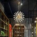 Скандинавские Инс ресторанное подвесное освещение креативное освещение для гостиной  спальни  дома  светодиодная Подвесная лампа  Хрустал...