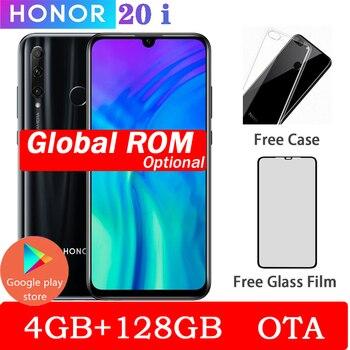 Original Honor 20 lite Smartphone Honor 20i Android 9.0 Octa-core 6.5 inch Full Screen 1440x1440 Dual Camera 3 Slots Cell Phone 1