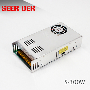 300 W ac dc power supply / 12V 25A led switching mode smps / 300Watt led power transformer S-300-12