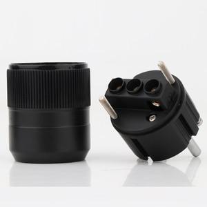 Image 3 - ハイト品質ペア P 077E ロジウムメッキユーロ schuko eu の電源プラグ C 077 iec コネクタプラグ