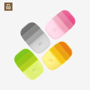 Image 1 - YouPin inFace petit Instrument de nettoyage en profondeur nettoyer sonique beauté du visage Instrument de nettoyage visage soins de la peau masseur