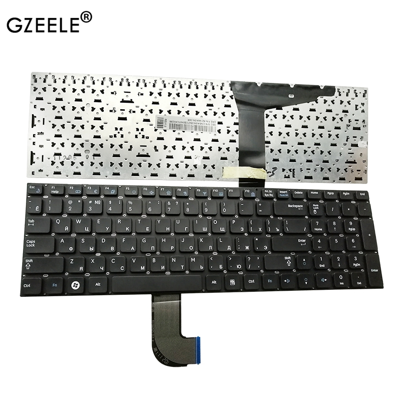 NEW Russian RU Laptop Keyboard For Samsung RF712 RF710 RF711 RF730 Black PO No Frame BA59-02848L CNBA5902848 9Z.N6ASN.006