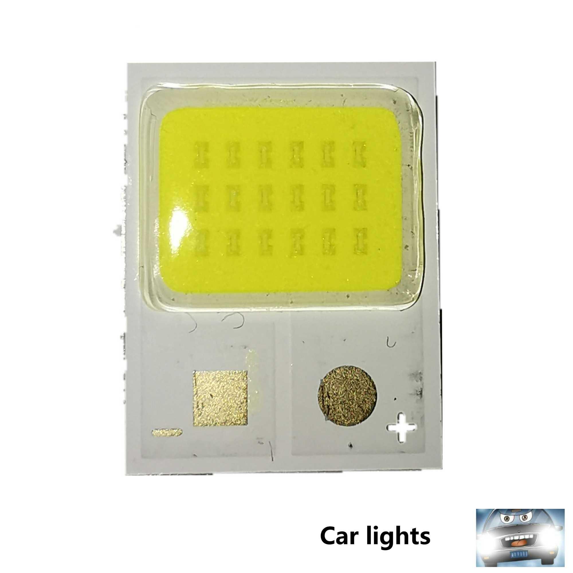 1 Uds número 6 C6 coche bombillas de faros H1 H3 H7 H11 9005 de 9006 de luces LED del coche H4 9004 9007 H13 Hi-Lo haz de estilo