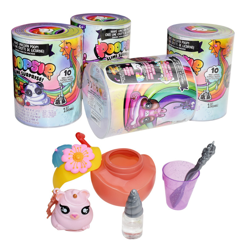 Poopsie Slime Unicorn Spit Mucus Doll Toys Clothes Squishy Animal Toys Hobbies Stress Relief Toy