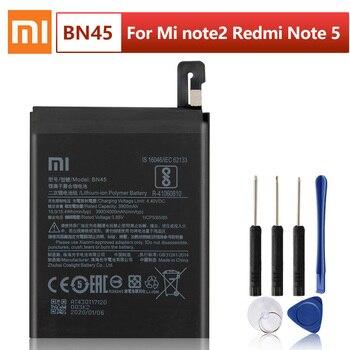 цена на Original XIAOMI BN45 Replacement Battery For Xiaomi Mi Redmi Note 5 Redmi note5 Redrice Note5 Authentic Phone Batteries 4000mAh