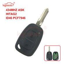 Kigoauto 8200008231 дистанционный ключ 2 кнопки 433 МГц vac102