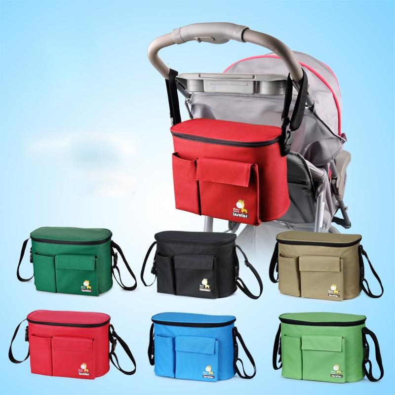 Pram Pushchair Bag Baby Changing Buggy Storage Bag Bottle Cup Organizer Yoya Cup Holder Stroller Accessories