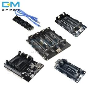 18650 16340 Lithium Battery Shield V9 V8 V3 Mobile Power Expansion Board Module 5V/3A 3V Micro USB Type-C For Arduino ESP8266(China)