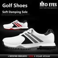 Pgm Golf Shoes Waterproof Breathable Shoes Microfiber Leather Spikes Nail Sneakers Men'S Golf Non Slip Training Shoes