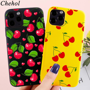 Fashion Phone Cases for IPhone 12 SE 11 Pro X XS MAX XR 8 7 6s Plus Floral Fruit Case Soft TPU Silicone Back Covers Shell Fundas