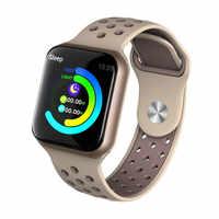 F8 1.3 Pollici Astuto Della Vigilanza Degli Uomini di IP67 Impermeabile Monitor di Frequenza Cardiaca Donne Smartwatch Per Android IOS PK S226 bluetooth di Apple orologio
