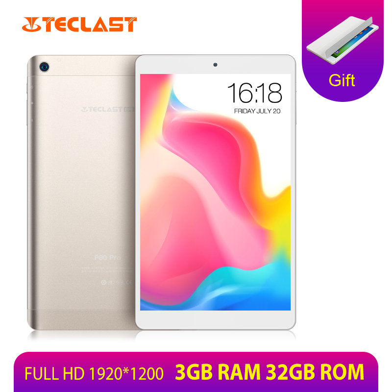 Teclast Quad-Core Andriod Tablets Pc Dual-Cameras 3GB-RAM MTK8163 Dual-Wifi 1920--1200