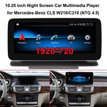 """10.25"""" 1920*720 Android 9.0 GPS Navigation Car Multimedia Player for Mercedes Benz CLS W218 C218 (2011-2015 NTG 4.5)"""