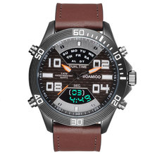 BOAMIGO Brand Watches Men Sports Watches Fashion Quartz Wristwatches For Men 30M Waterproof LED Digital Clock Relogio Masculino