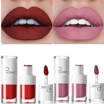 2019 Hot Liquid Matte Lipstick Waterproof Red Lip Makeup Tattoo Long Lasting Tint Plumper Gloss Rouge maquiagem