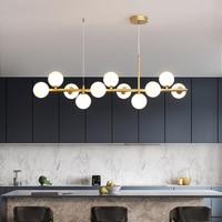 Lámpara colgante moderna para sala de estar, comedor, cocina, dormitorio, luz Led de techo nórdica G9, accesorio de luz