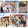 Японские Аниме постеры Kuroko's для баскетбола, настенные художественные принты с белым покрытием и картины, Современный домашний декор, насте...