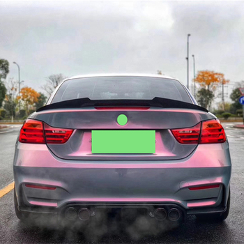Use For BMW 4 Series Coupe F33 M4 F83 Spoiler 2014--19 Year 2door Cabriolet Carbon Fiber Rear Wing M4 Style Accessories Body Kit image