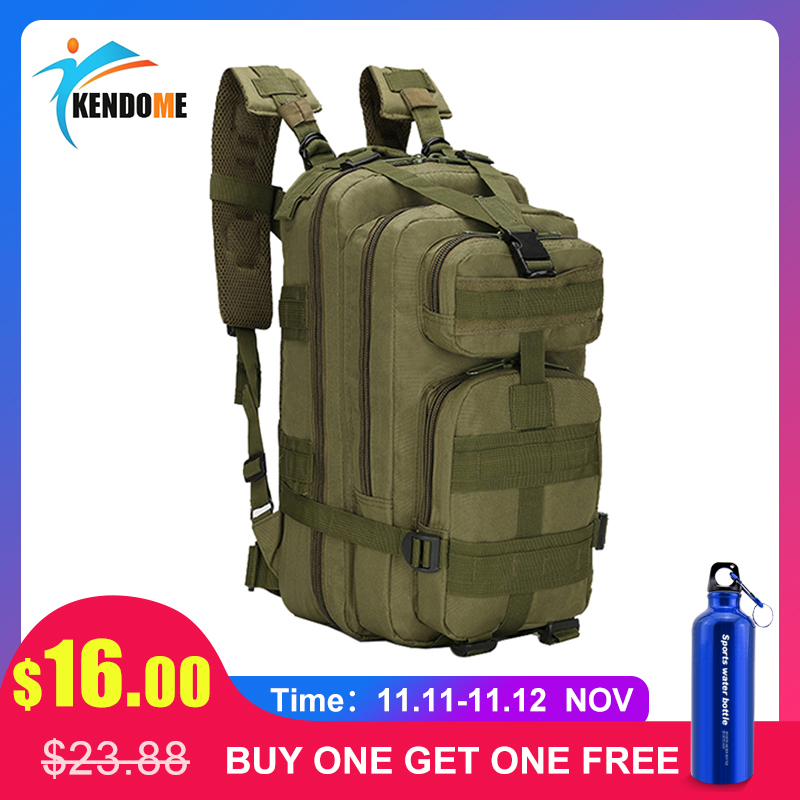 20L-25L Men Tactical Military Backpack Rucksack Camping Hiking Trekking Camouflage Bag Outdoor Military Army Tactical Backpack