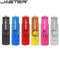 JASTER USB 2 0 OTG USB stick Smart Telefon Tablet PC 4GB 8GB 16GB 32GB 64GB Pendrives OTG Reale Kapazität Usb stick-in USB-Flash-Laufwerke aus Computer und Büro bei