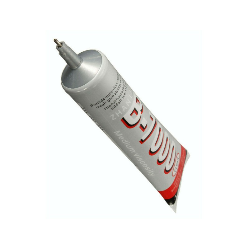 Portable 25ml B7000 Glue With Needle Mobile Phone Point Drill DIY Jewelry Decorative Mobile Phone Screen Glue