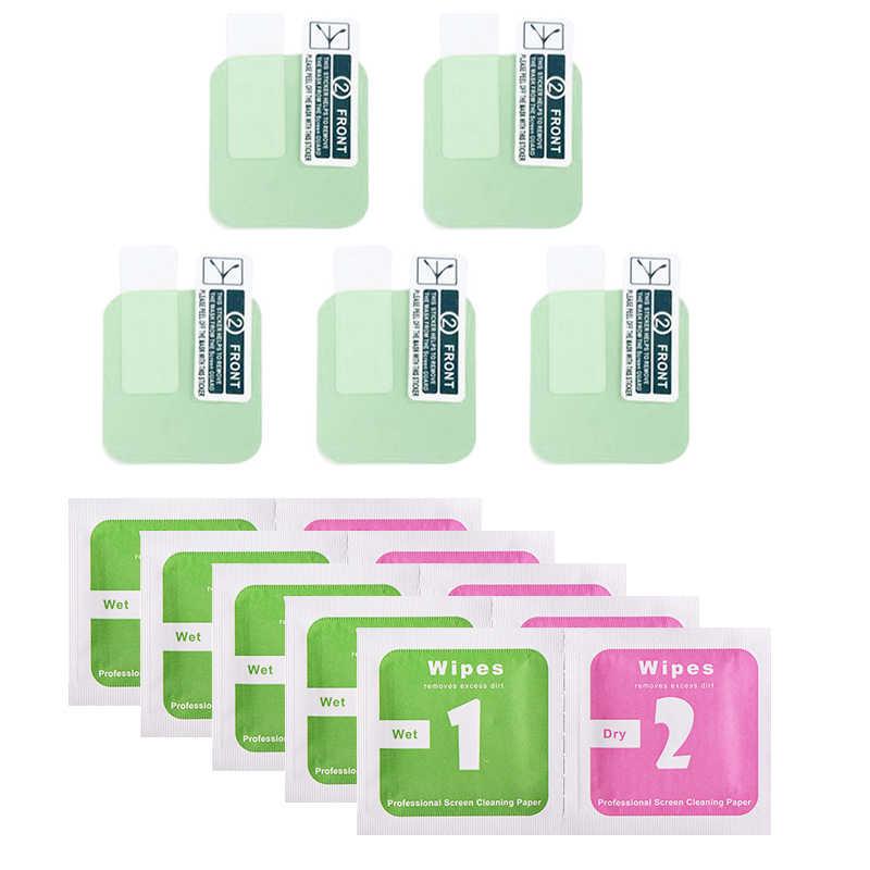 1/2/5 uds TPU transparente, blando Protector de pantalla para Xiaomi Huami Amazfit Bip GTS BIP Lite reloj inteligente película protectora de la cubierta completa