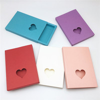 11.4x8x1cm Colorful Kraft Cardboard Small Gift Packaging Paper Boxes Handmade Drawer Paper Boxes 11.4x8x1cm 100pcs/lot