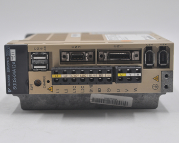 цена на Japan YASKAWA SGDS-04A12AY511 400W servo drive disassembly