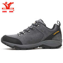 XIANG GUAN Men Hiking Shoes Trekking Sneakers Waterproof  Climbing Mountain Trainers Outdoor Walking&Jogging Sneakers цена и фото