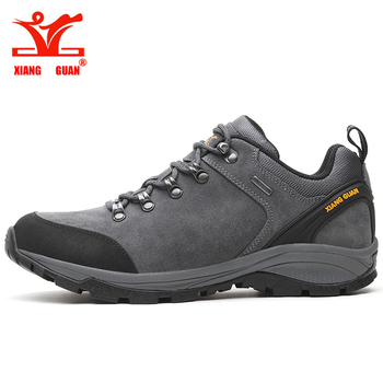 XIANG GUAN Men Hiking Shoes Trekking Sneakers Waterproof  Climbing Mountain Trainers Outdoor Walking&Jogging Sneakers