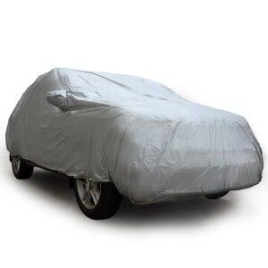 Image 3 - Cubierta Universal para coche SUV, cubierta para coche UV, resistente al sol, resistente al polvo, cubiertas para coches completos, abrigo M L XL para Toyota Jeep Chevrolet Land Rover