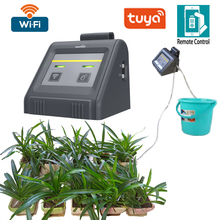 2021 Tuya Wi-Fi Controled Indoor Micro-drip Irrigation System Water Timer With Pump Irrigation Controller App Control Smart Home