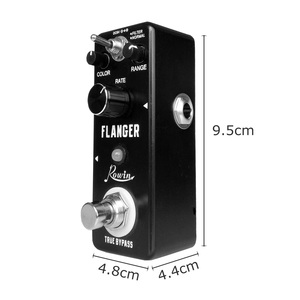 Image 3 - Rowin LN 312 Classic Analog Flanger Guitar Effect Pedal True Bypass Aluminum Alloy Shell Guitar Accessories For Guitar