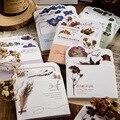 60 Sheest/лот самостоятельно блок стикеров для заметок в форме цветка Сакура растения селфи-Палка с блокноты милые красочные Memo размещено блокн...