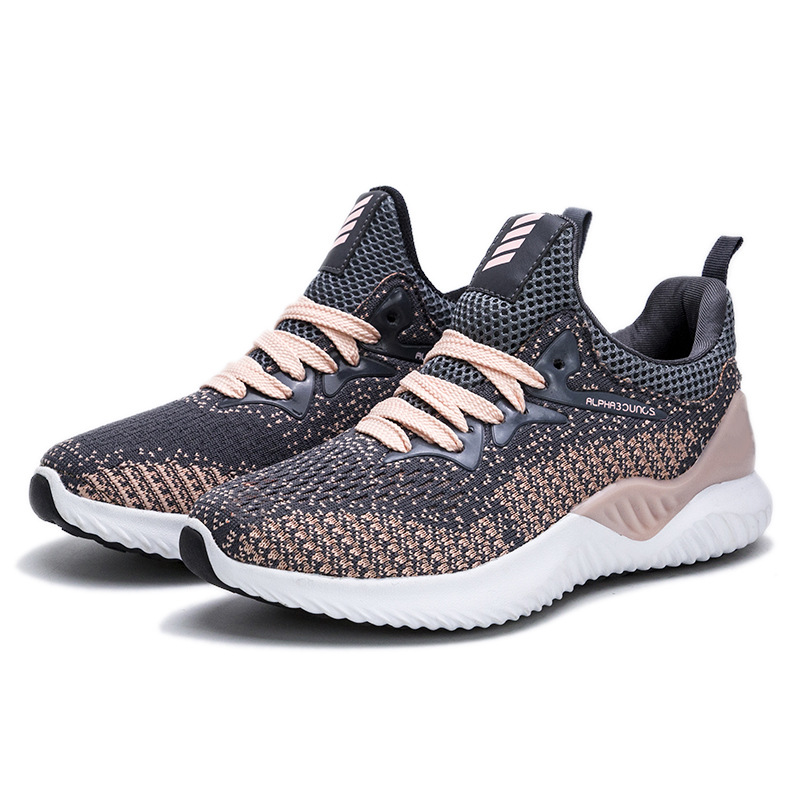 New Stable Running Shoes Casual Ice Silk Breathable Men's Shoes Women's Shoes Hiking Sports Shoes
