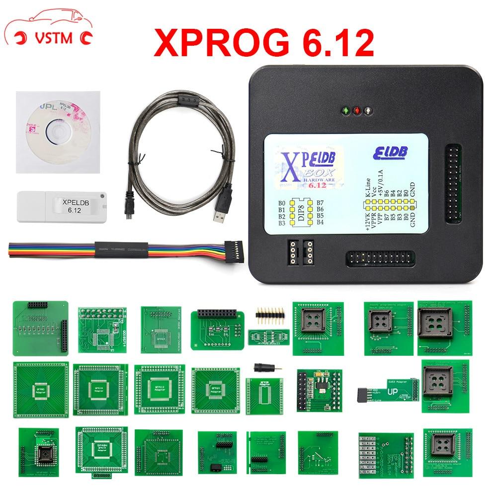 XPROG-M V6.12 V5.74 X Prog M Box V5.55 Auto ECU Chip Tuning Programmer Xprogm 5.84 Xprog 5.55 Xprog5.55
