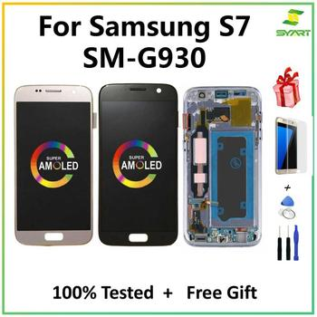 OLED for S7 5.1'' LCD Replacement for SAMSUNG Galaxy S7 Display G930 G930F Touch Screen Digitizer Assembly with Frame for samsung galaxy s3 tft lcd display lcd touch screen digitizer assembly with frame for samsung galaxy s3 i9300 i9300i i9308i