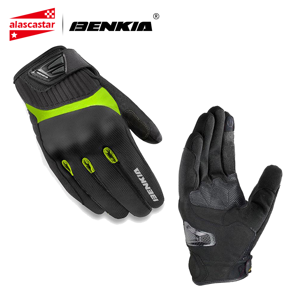 BENKIA Motorcycle Glove Summer Motocross Gloves Full Finger Riding Motorbike Moto Gloves Motocicleta Guantes Gloves S XXL|Gloves| |  - title=