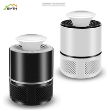 Led mosquito killer lamp Electric anti  UV insect Lights usb lampe moustique Black/Whit