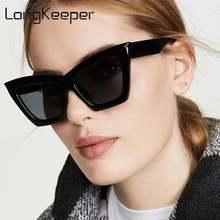 Longkeeper модные солнцезащитные очки «кошачий глаз» Женская