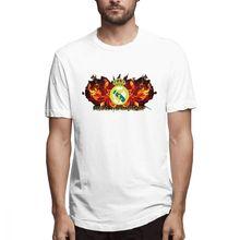 2019 funny tee cute Real Madrid Live t shirts men cotton tops cool shirt summer Mens Short Sleeve T-shirt