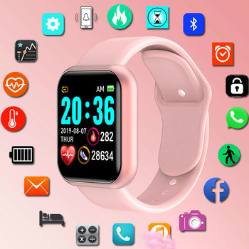 Portable SmartWatch Women Girl Fitness Tracker Sport Watch Electronic Wrist For Andriod Ios Smart Clock Female watch