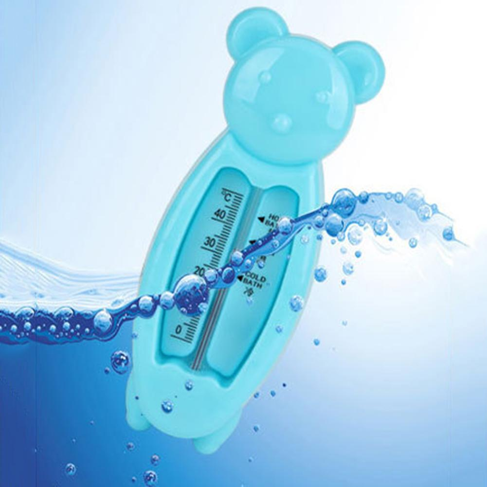 Newborn Baby Bath Water Thermometer Cartoon Bear Shape Baby Shower Bath Water Thermometer Temperature Test Tool New