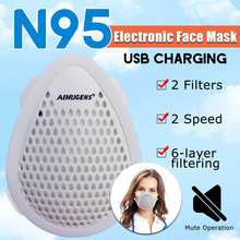 N95 Mask Anti Avirus Protective Mask Dust Mask Electric Filter Mask Air Purification Surgical Mask