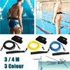 3/4m Adjustable Swim Training Resistance Elastic Belt Swimming Exerciser Safety Rope Latex Tubes Swim Tether Elastic Rope Band