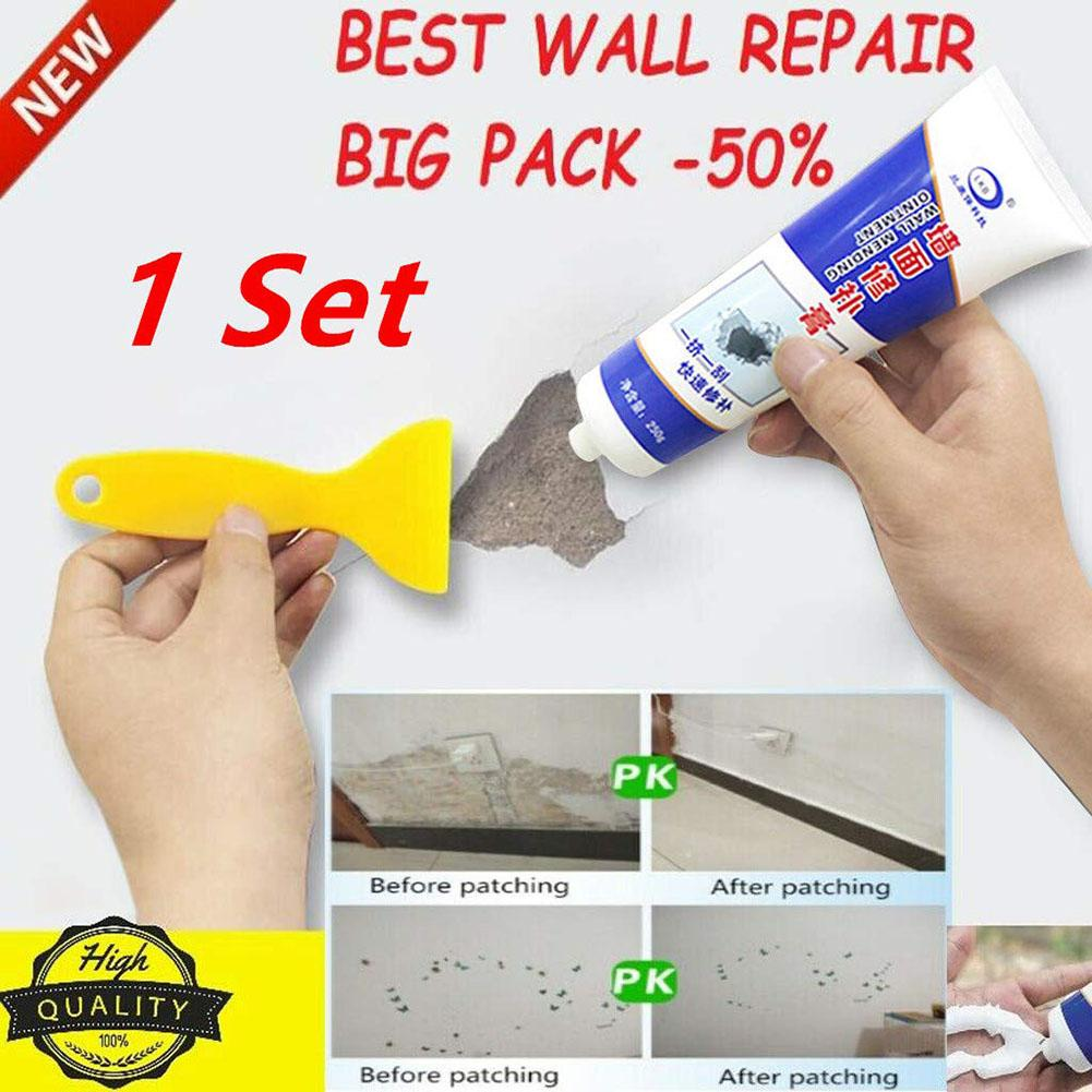 Waterproof White Wall Repair Cream Scratch Peeling Graffiti Gap Mending Tools