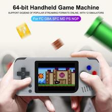 64-bit Open Source Handheld Game Machine For FC GBA SFC MD PS NGP 2019 New