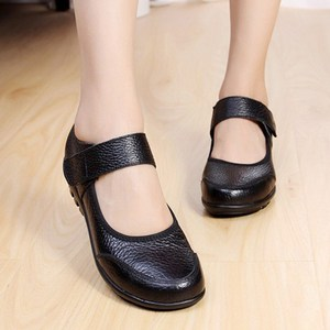 Image 3 - GKTINOO Summer Ballet Flats Shoes Woman Leather Mary Jane Casual Shoes ladies Genuine Loafers Shoes Female 2019 Sapato Feminino