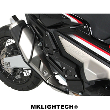 MKLIGHTECH For HONDA XADV 300 750 1000 2017-2019 Motorcycle CNC Exhaust Pipe Bumpers Protector Guard